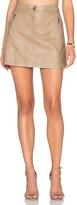 J.o.a. Side Zipper Mini Skirt