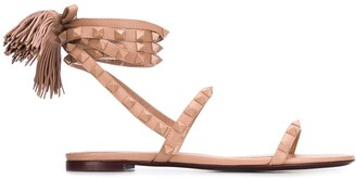 Valentino Rockstud Flair flat sandals