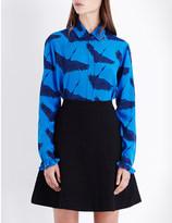 Sandro Lena silk-georgette shirt