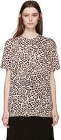Givenchy Beige Jaguar Print T-Shirt