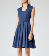 Reiss Nerissa FIT AND FLARE DRESS