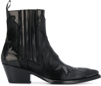Sartore ankle-length cowboy boots