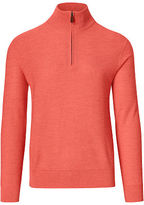 Ralph Lauren Merino-blend Half-zip Sweater