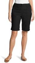 Chico's Casual Roll-Cuff Shorts - 11 Inch Inseam