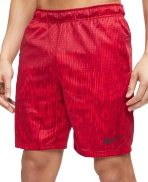 Nike Men's Dri-fit Printed Training Shorts