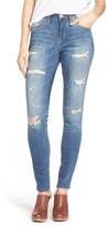 Jag Jeans Petite Women's Sheridan Distressed Skinny Jeans