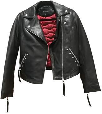 Berenice Black Leather Jacket for Women