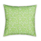 Glenna Jean Flossie Square Throw Pillow in Green