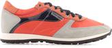 Antony Morato Neon orange orange and nylon trainers