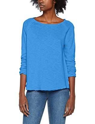 Rich & Royal rich&royal Women's Heavy Jersey Longsleeve Long Sleeve Top, (Cornflower Blue 746), X-Small