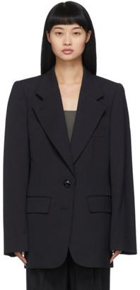 Lemaire Black Wool Blazer