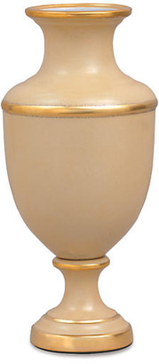 "Port 68 17"" Greenwich Vase - Latte/Gold"