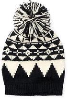 Ralph Lauren 7-16 Slouchy Geometric Hat