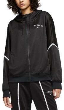 Nike Women's Sportswear Colorblocked Zip Hoodie