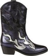 Chiara Ferragni Flame Western Boots