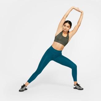 Nike Medium SupportSwoosh Sports Bra - Khaki
