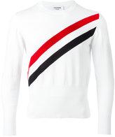 Thom Browne striped jumper - men - Cotton - 1