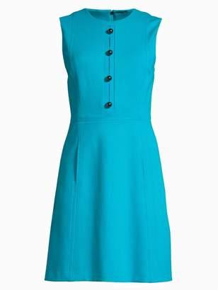 Elie Tahari Louisa Knit A-Line Dress