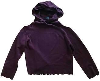 RtA Burgundy Cashmere Knitwear