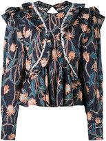 Isabel Marant Uster blouse - women - Cotton/Acrylic/Brass - 38