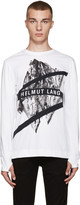 Helmut Lang White Glacial T-Shirt