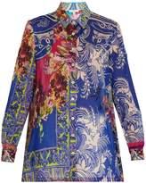 Etro Floral paisley-print cotton shirt