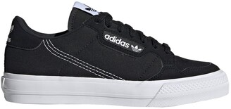 adidas Kids Continental Vulc Trainers in Leather