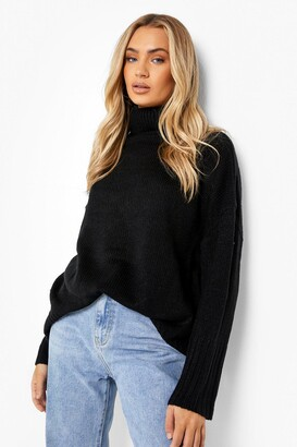 boohoo Oversized Roll Neck Jumper