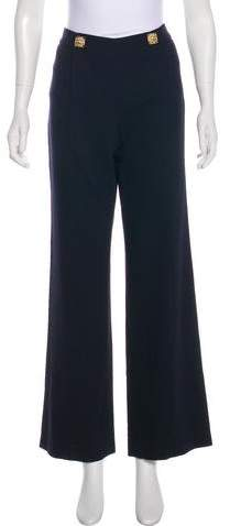 Chanel Paris-Byzance High-Rise Pants