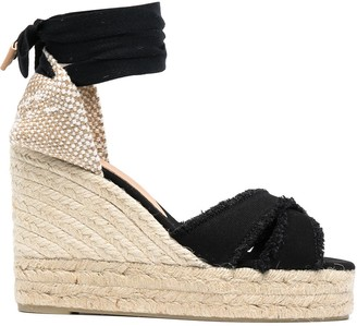 Castaner Bluma wedged sandals