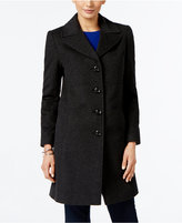 Larry Levine Wool-Blend Walker Coat