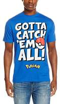 Pokemon Men's Gotta Catch Em Text T-Shirt