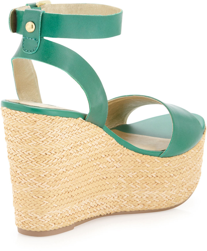 Seychelles Edge of Your Seat Wedge Sandal, Emerald
