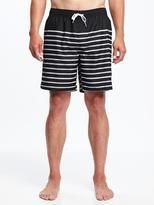"""Old Navy Printed Swim Trunks for Men (8"""")"""