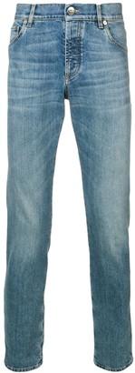 Brunello Cucinelli Slim Faded Jeans