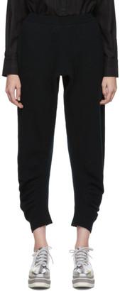 Stella McCartney Black Wool Simple Lounge Pants
