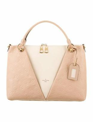 Louis Vuitton 2018 Monogram Empreinte V Tote MM Pink