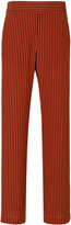 Etro striped high-waisted trousers - women - Silk - 40