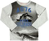 American Outfitters Snowboard Printed Cotton Jersey T-Shirt