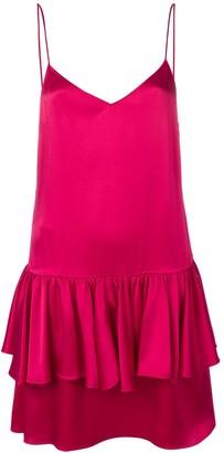 Stella McCartney sweetheart sleeveless ruffle dress