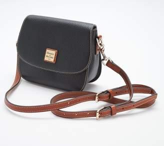 Dooney & Bourke Pebble Leather Saddle Crossbody