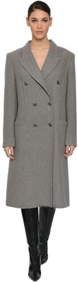 Maison Margiela Double Breast Cashmere Coat