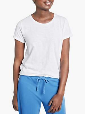 Hush Cotton Slub Crew Neck T-Shirt