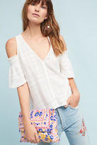 Tina + Jo Textured Open-Shoulder Top