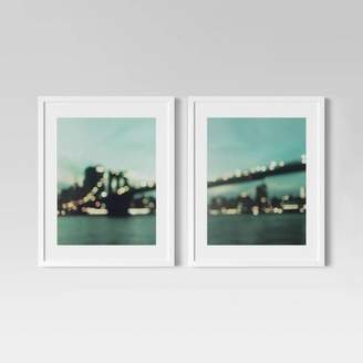 "Minted Project 62 (Set of 2) 16"" x 20"" Brooklyn Bridge Framed Print - Project 62TM"