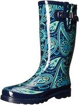 Western Chief Women's Wild Paisley Rain Boot