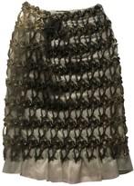 Christopher Kane Grey Silk Skirt for Women