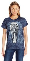 The Mountain Junior's White Tiger Graphic T-Shirt