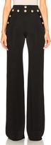 Balmain Wide Leg Pants