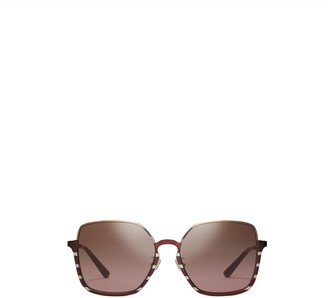 Tory Burch HALF-RIM WIRE SUNGLASSES